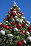 Piękny nowego roku drzewo Fotografia Royalty Free