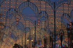 Piękny oświetlenie światła Fotografia Royalty Free