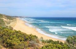 piękny ocean na plaży Obrazy Royalty Free