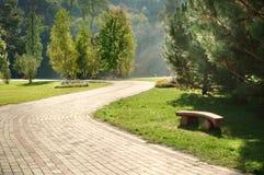 Piękny ogród zdjęcie royalty free