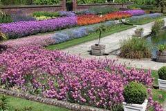 piękny ogród formalne Obrazy Stock
