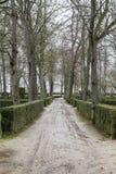 Piękny ogródu pałac Aranjuez, Madryt, Hiszpania Zdjęcia Stock