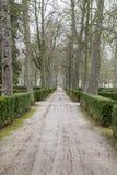 Piękny ogródu pałac Aranjuez, Madryt, Hiszpania Obrazy Royalty Free