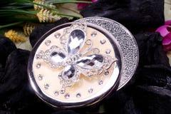Piękny Orientalny biżuterii pudełka indianin, arab, afrykanin, egipcjanin Moda egzota akcesoria obraz stock