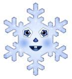 piękny płatek śniegu Fotografia Royalty Free