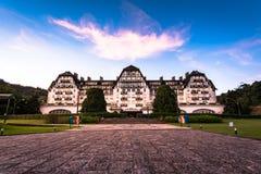Piękny pałac w Cesarskim mieście Petropolis Zdjęcia Stock