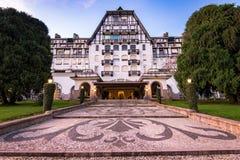 Piękny pałac w Cesarskim mieście Petropolis Zdjęcia Royalty Free