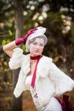piękny panny młodej sukni ślub Zdjęcia Stock