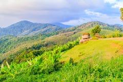 Piękny panoramiczny widok górski od wzgórza Duży Buddha w Ph Zdjęcie Royalty Free