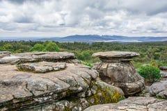 Piękny park narodowy obrazy royalty free