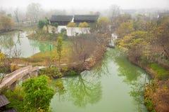 piękny park narodowy scenics bagna xixi zdjęcie royalty free
