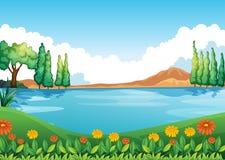 Piękny pic natura ilustracja wektor