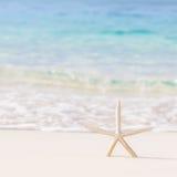 Piękny plażowy tło Zdjęcia Royalty Free