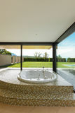 Piękny pokój z jacuzzi Obraz Stock