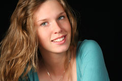 piękny portret nastolatków. obraz stock