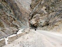 Piękny powulkaniczny Drogowy skrzyżowanie góry Fotografia Royalty Free