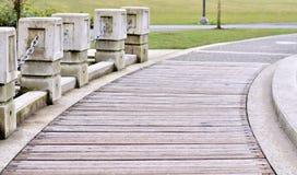 Piękny przejście w parku Zdjęcie Stock