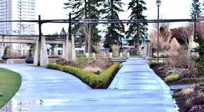 Piękny przejście w parku Zdjęcia Royalty Free