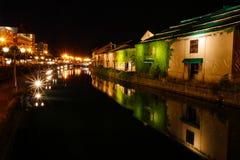 Piękny przy noc krajobrazu tła scenerią historyczny Ota Obrazy Royalty Free