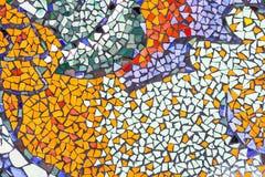 Piękny przygotowania kolorowe ceramiczne płytki Obraz Stock