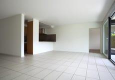 piękny pusty mieszkanie zdjęcia royalty free