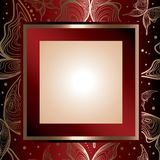piękny ramowy złoto Obraz Stock