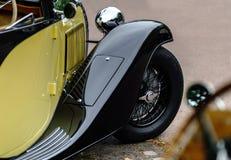 Piękny retro samochód Elegancja i styl pierwszy część cen XX Fotografia Royalty Free