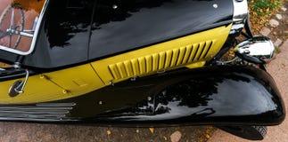 Piękny retro samochód Elegancja i styl pierwszy część cen XX Obrazy Royalty Free