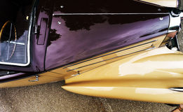 Piękny retro samochód Elegancja i styl pierwszy część cen XX Zdjęcia Stock
