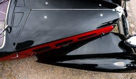 Piękny retro samochód Elegancja i styl pierwszy część cen XX Fotografia Stock