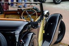 Piękny retro samochód Elegancja i styl pierwszy część cen XX Zdjęcie Royalty Free