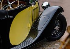 Piękny retro samochód Elegancja i styl pierwszy część cen XX Obraz Royalty Free