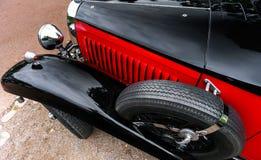 Piękny retro samochód Elegancja i styl pierwszy część cen XX Obraz Stock