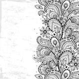Piękny rocznika ornament Zdjęcia Royalty Free
