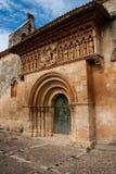 Piękny romańszczyzna kościół Fotografia Royalty Free