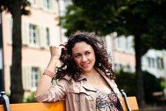 piękny rozochocony Latina zdjęcia stock