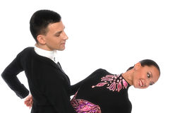 piękny sala balowej tango obrazy royalty free