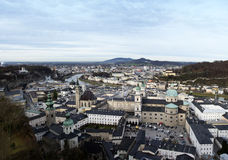 Piękny Salzburg, Austria Zdjęcia Royalty Free