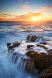piękny seascape zdjęcie royalty free