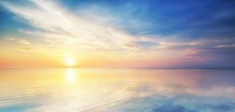 Piękny seascape. zdjęcie royalty free