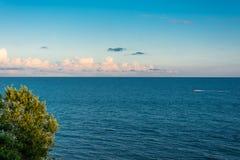 Piękny Seascape obrazy royalty free