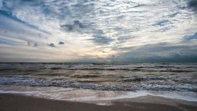 Piękny seascape czasu upływ zbiory wideo