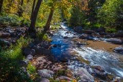 Piękny Sedona Arizona na Pogodnym jesień dniu obrazy stock