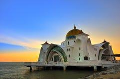 Selat meczet Fotografia Royalty Free