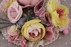 Piękny skład kwiaty Fotografia Royalty Free