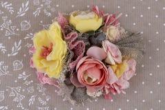 Piękny skład kwiaty Zdjęcia Stock