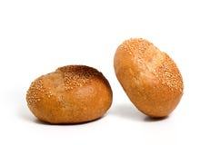 Piękny Sourdough chleb odizolowywa na białym tle Obraz Stock