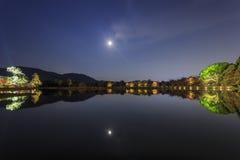 Piękny spadku krajobraz wokoło Kyoto Zdjęcia Royalty Free