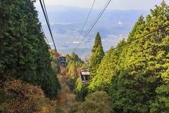 Piękny spadku krajobraz wokoło Kyoto fotografia royalty free