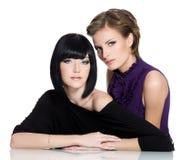 piękny splendor młodej dwa kobiety obrazy royalty free
